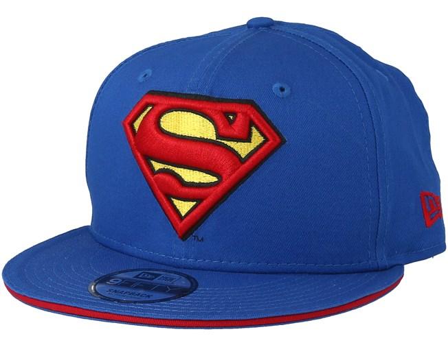 Superman Classic Tm Blue Snapback - New Era keps - Hatstore.se 74ca8f2588820