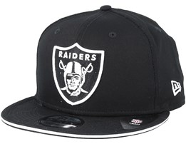 Oakland Raiders Classic Tm Black Snapback - New Era