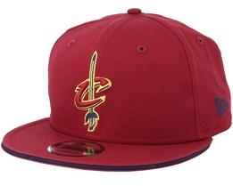 Cleveland Cavaliers Classic Tm Burgundy Snapback - New Era