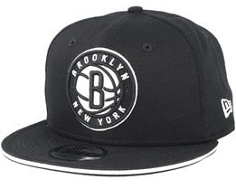 Brooklyn Nets Classic Tm Black Snapback - New Era
