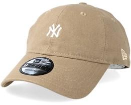 New York Yankees Canvas 9forty Camel Adjustable - New Era