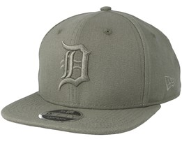 Detroit Tigers Canvas 9Fifty Olive Snapback - New Era