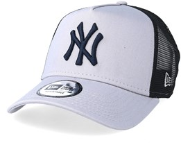 New York Yankees Reverse Grey/Black Trucker - New Era