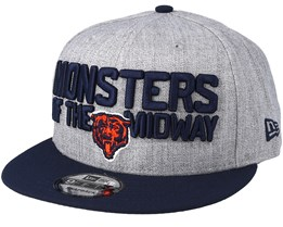 Chicago Bears 2018 NFL Draft On-Stage Grey/Navy Snapback - New Era