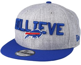 Buffalo Bills 2018 NFL Draft On-Stage Grey/Blue Snapback - New Era