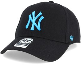 New York Yankees Mvp Wool Black/Blue Adjustable - 47 Brand
