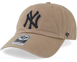 New York Yankees Clean Up Khaki/Navy Adjustable - 47 Brand