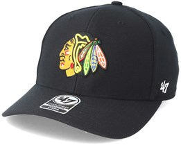 Chicago Blackhawks Contender Black Flexfit - 47 Brand