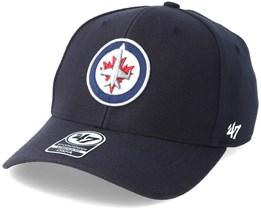 Winnipeg Jets Contender Navy Flexfit - 47 Brand