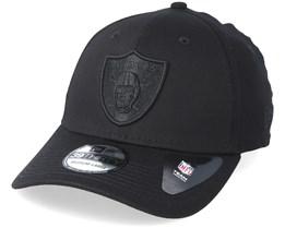 Oakland Raiders 39Thirty Black On Black Flexfit - New Era