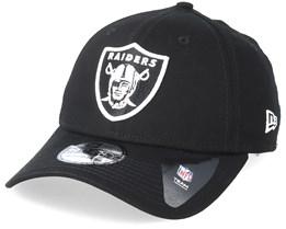 Oakland Raiders Base 39Thirty Black Flexfit - New Era