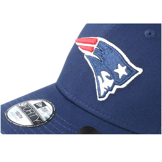 factory outlets on feet images of exclusive range Kids New England Patriots Essential 9Forty Navy Adjustable - New ...