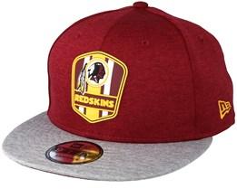 Washington Redskins 9Fifty On Field Red Snapback - New Era