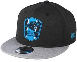 Carolina Panthers 9Fifty On Field Black/Grey Snapback - New Era