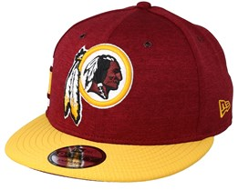 Washington Redskins 9Fifty On Field Burgundy/Yellow Snapback - New Era