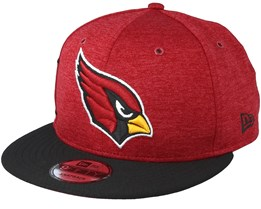 Arizona Cardinals On Field Red/Black Snapback - New Era
