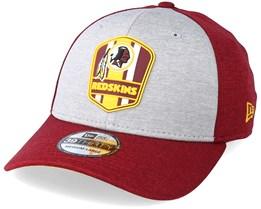 Washington Redskins 39Thirty On Field Grey/Red Flexfit - New Era