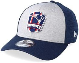 New England Patriots 39Thirty On Field 2 Navy/Grey Flexfit - New Era