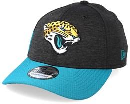 Jacksonville Jaguars 39Thirty On Field Black/Teal Flexfit - New Era