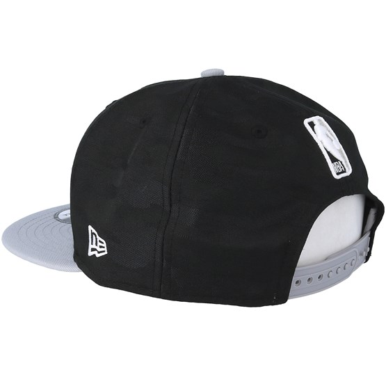 76fb80da7da San Antonio Spurs Tipoff Series 9Fifty Camo Black Snapback - New Era caps
