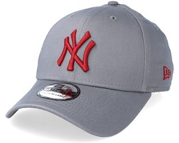 96a206cdc23e1 New York Yankees League Essential 39Thirty Grey Cardinal Flexfit - New Era