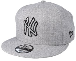 New York Yankees 9Fifty Essential Heather Grey Snapback - New Era 95cffe6d6699