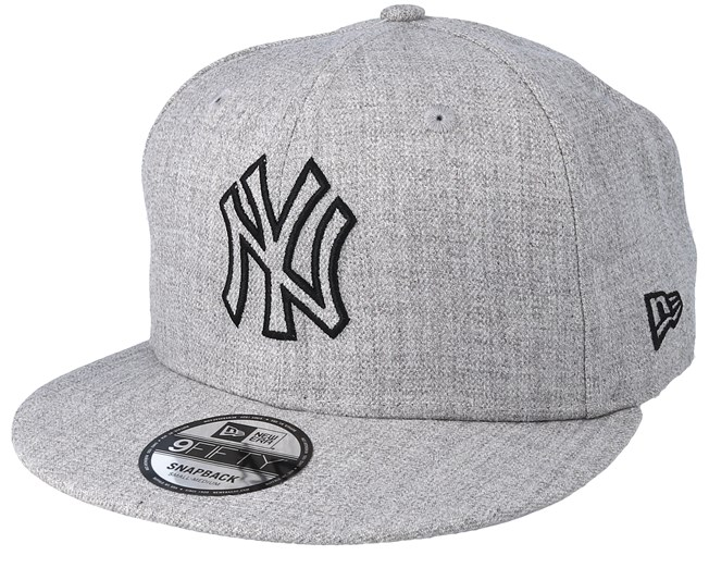 New York Yankees 9Fifty Essential Heather Grey Snapback - New Era - Bearded  Man Apparel - Hatstore.es 6312cd284cc
