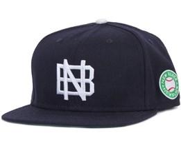 Base Navy Snapback - New Black