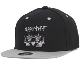 Conception Black/Grey Snapback - Appertiff