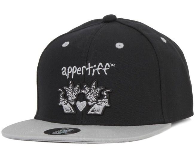 Conception Black/Grey Snapback - Appertiff
