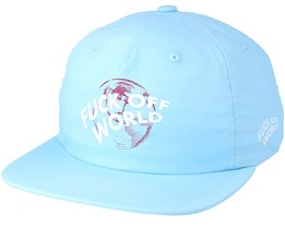 Get Me Out Of Here Unstructured Powder Blue Strapback - Diamond