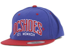 Slipper Royal Blue Snapback - DC