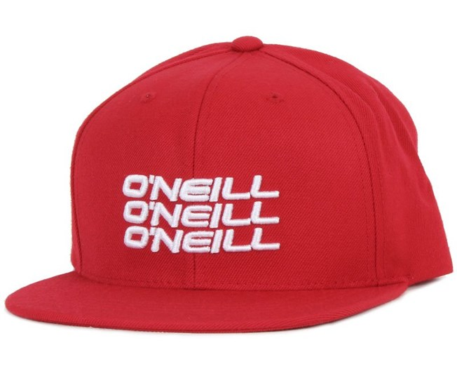 Stacked Red Snapback - O'Neill