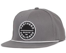 The Circle Brand Snapback Grey - Northern Hooligans