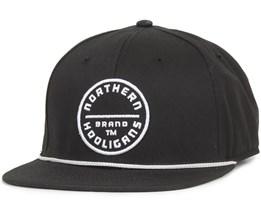 The Circle Brand Snapback Black - Northern Hooligans