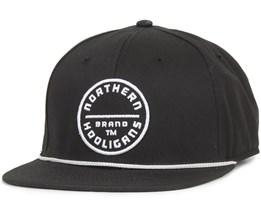 The Circle Brand Snapback Black - Northern Hooligans