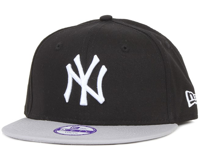 Kids NY Yankees MLB Cotton Black/Gray 9Fifty - New Era