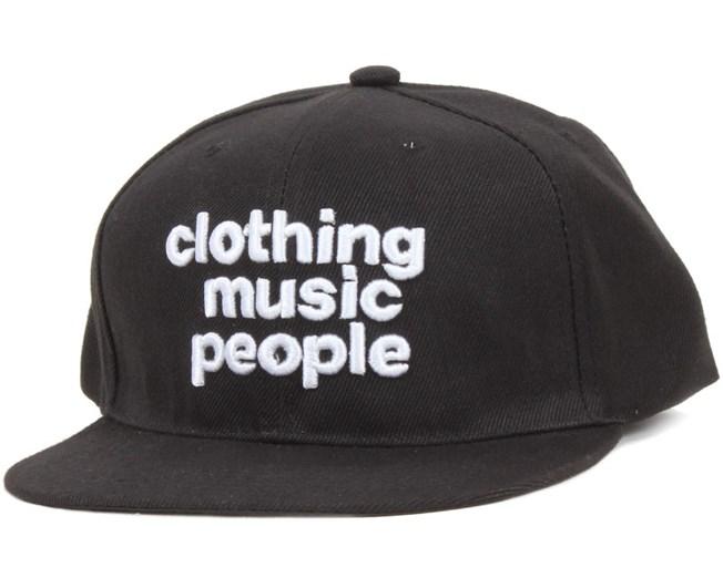 C-M-P Black Snapback - Somewear