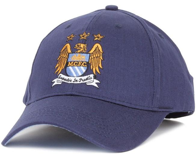 Manchester City Adjustabel Cap Navy - Team