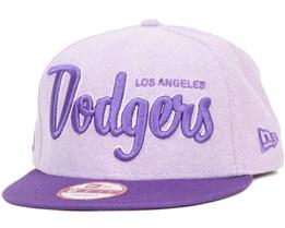 LA Dodgers Retro Scholar 2 Purple 9Fifty Snapback - New Era