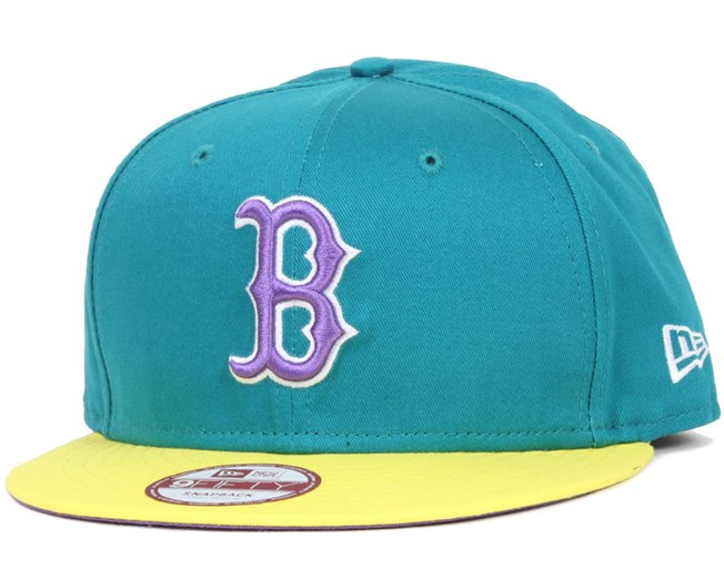 Boston Red Sox Tricol Basic 9Fifty Snapback - New Era