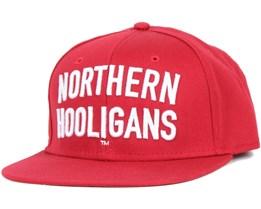 Hooligans Red Snapback - Northern Hooligans