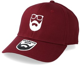 Logo Maroon Adjustable - Bearded Man