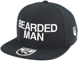Official Black Snapback - Bearded Man