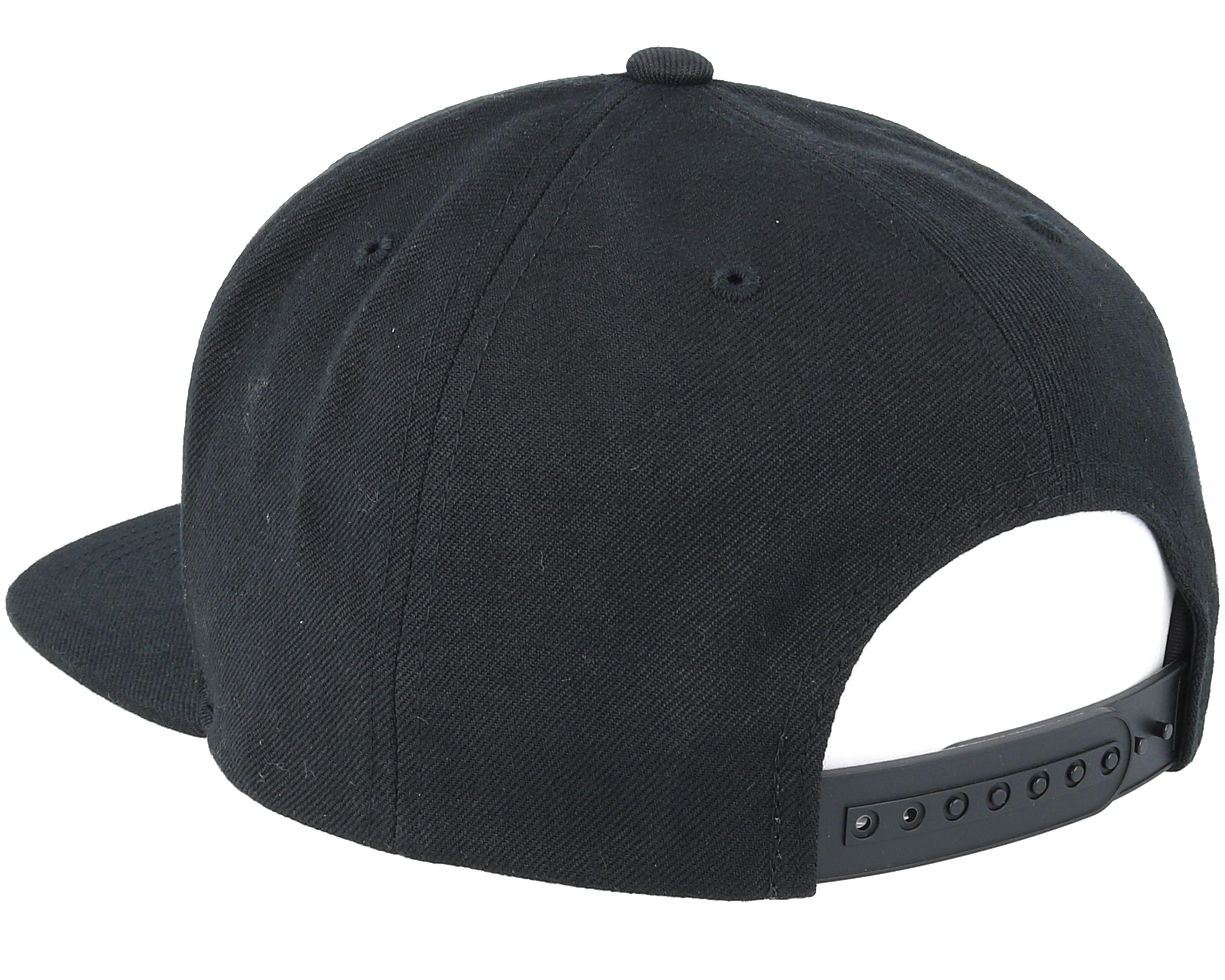 38d03edc09a Wheeler Black Snapback - Brixton caps