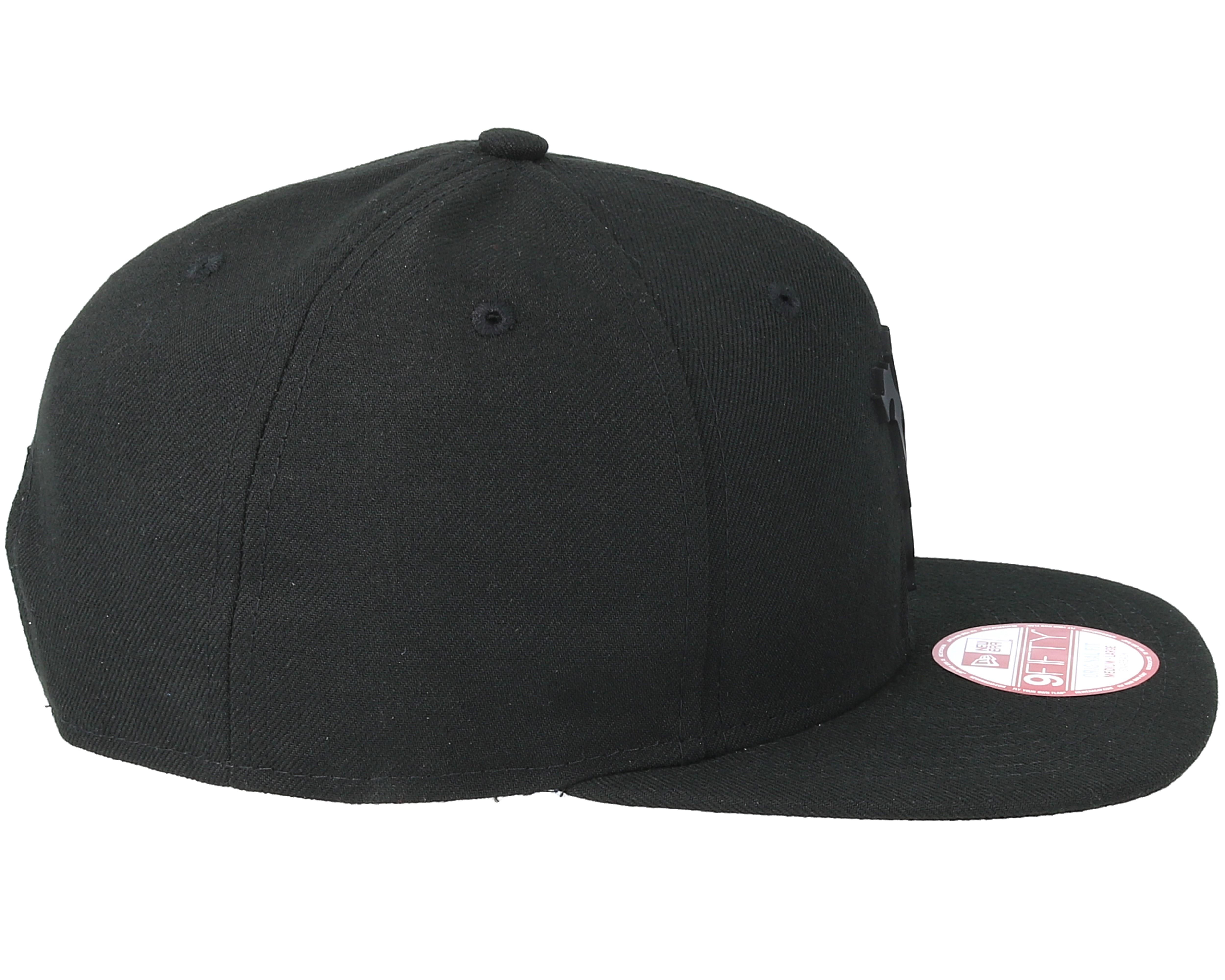 manchester united bob devil black black 9fifty snapback new era cap. Black Bedroom Furniture Sets. Home Design Ideas