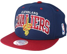 Cleveland Cavaliers Team Arch Snapback - Mitchell & Ness