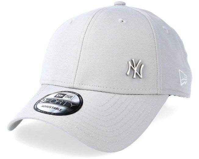 NY Yankees Flawless Grey 940 Adjustable - New Era - casquette   Hatstore.fr 8afd989376df