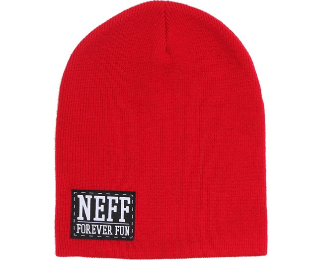 Forever Fun Beanie Red - Neff