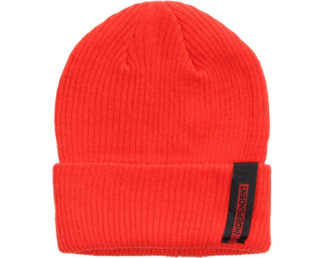 Front Beanie Tomato - Independent